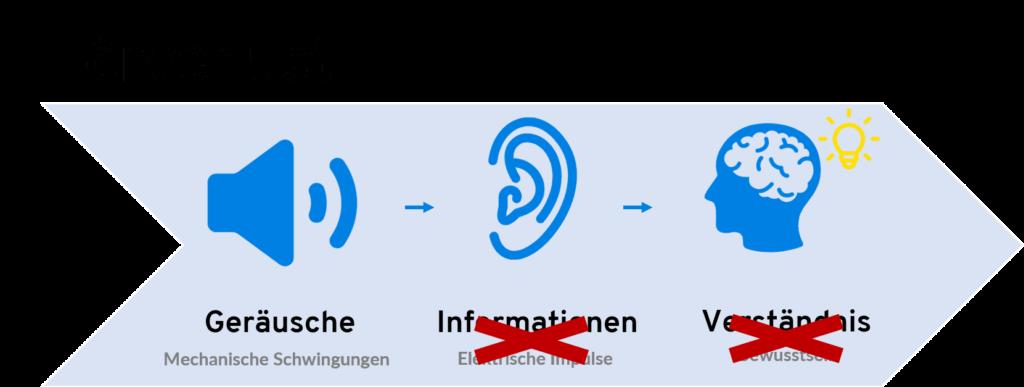 Hörprozess bei Hörverlust