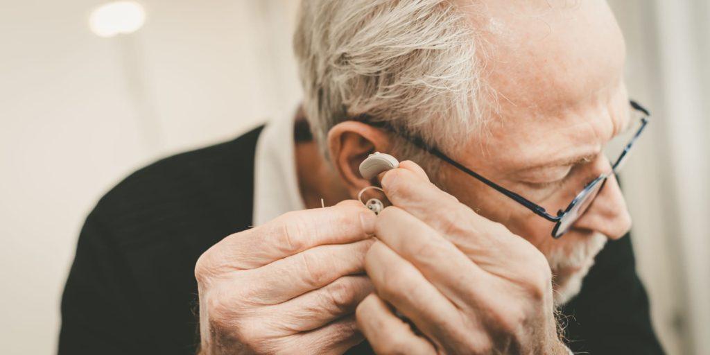 Ex-Hörer HdO Hörgerät