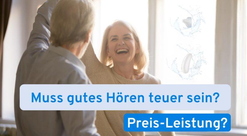Hörgeräte Preise - Was kosten Hörgeräte?